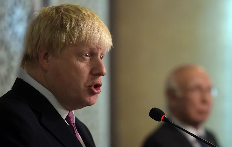 """Boris Johnson wants Britain to """"widen the horizons of our foreign policy"""""""