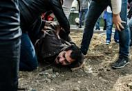 Police fire tear gas to disperse May Day protests in Istanbul