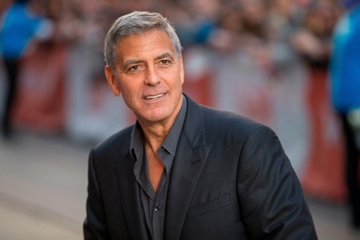 "In an interview with The Daily Beast, <a href=""https://www.thedailybeast.com/george-clooney-speaks-out-on-harvey-weinstein-its-disturbing-on-a-whole-lot-of-levels"" rel=""nofollow noopener"" target=""_blank"" data-ylk=""slk:George Clooney said that"" class=""link rapid-noclick-resp"">George Clooney said that</a>, for decades, he'd heard rumors about Weinstein, but dismissed them as&nbsp;gossip. Calling Weinstein's behavior ""disturbing"" and ""indefensible,"" Clooney said he had no idea&nbsp;of the severity of the accusations.&nbsp;<br><br>""A good bunch of people that I know would say, &ldquo;Yeah, Harvey&rsquo;s a dog&rdquo; or &ldquo;Harvey&rsquo;s chasing girls,&rdquo; but again, this is a very different kind of thing,"" the actor told the Daily Beast. ""This is harassment on a very high level. And there&rsquo;s an argument that everyone is complicit in it. I suppose the argument would be that it&rsquo;s not just about Hollywood, but about all of us&mdash;that every time you see someone using their power and influence to take advantage of someone without power and influence and you&nbsp;<i>don&rsquo;t</i>&nbsp;speak up, you&rsquo;re complicit. And there&rsquo;s no question about that."""