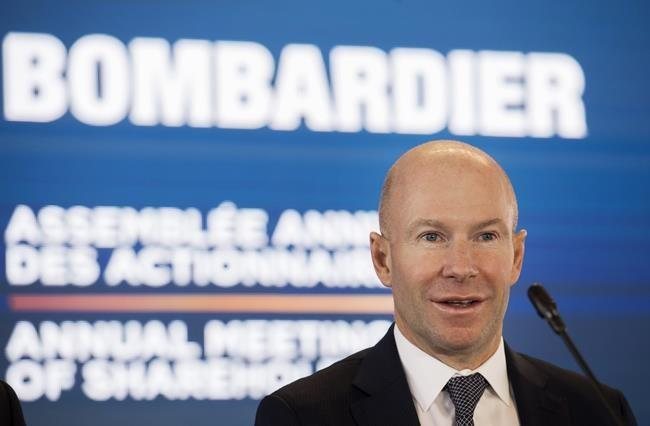 Bombardier reports quarterly loss, weighed down by rail department