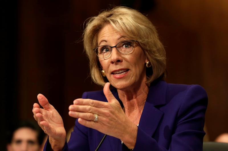 Senators Oppose Education Secretary Confirmation