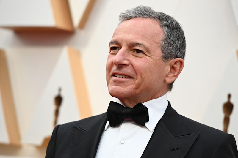 Disney CEO Robert Iger arrives for the 92nd Oscars at the Dolby Theatre in Hollywood, California on February 9, 2020. (Photo by Robyn Beck / AFP) (Photo by ROBYN BECK/AFP via Getty Images)
