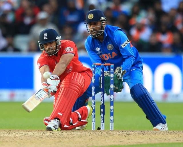 Ravi Bopara had combined with Eoin Morgan to put England in sight of victory