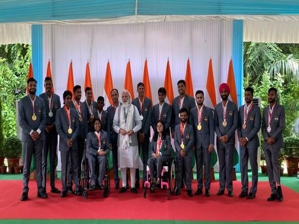 Visuals from Prime Minister Narendra Modi's interaction with Para-athletes on September 9.