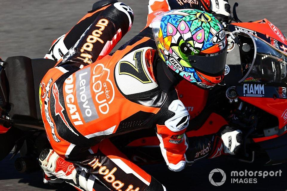 "Chaz Davies, Aruba.it Racing Ducati<span class=""copyright"">Gold and Goose / Motorsport Images</span>"