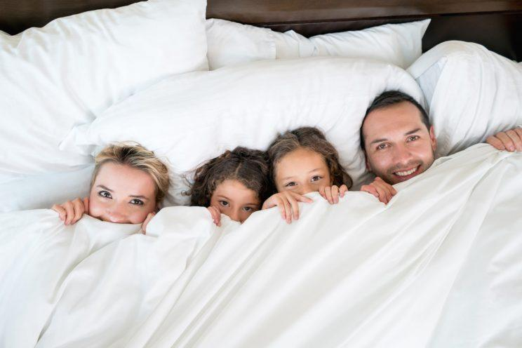 Would you let your children have a duvet day? [Photo: Getty]