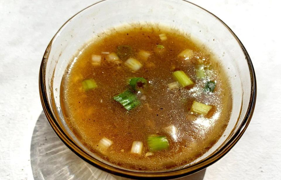 """<p>Add this Asian vinaigrette to salads that are loaded with veggies, grains and a light protein like chicken or tofu. If you like things with a little heat, try hot sesame oil instead of regular.</p> <p><a href=""""https://www.thedailymeal.com/asian-vinaigrette-recipe?referrer=yahoo&category=beauty_food&include_utm=1&utm_medium=referral&utm_source=yahoo&utm_campaign=feed"""" rel=""""nofollow noopener"""" target=""""_blank"""" data-ylk=""""slk:For the Asian Vinaigrette recipe, click here."""" class=""""link rapid-noclick-resp"""">For the Asian Vinaigrette recipe, click here.</a></p>"""