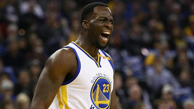 The Warriors forward doesn't think athletes are protected when it comes to racist taunts.