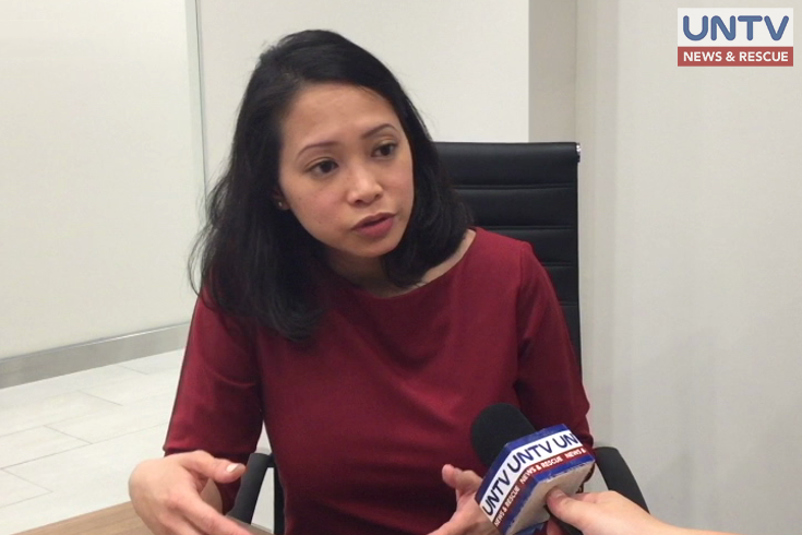 Immigration lawyer Atty. Junoetia Salonga