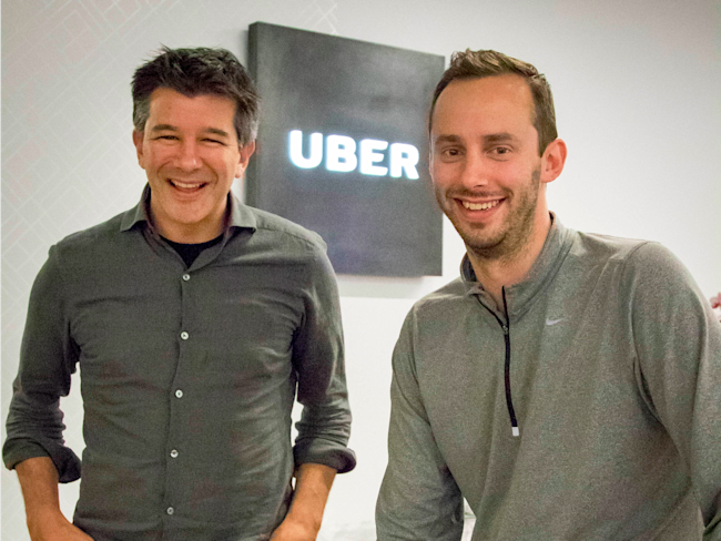 Lawsuit against former Uber CEO