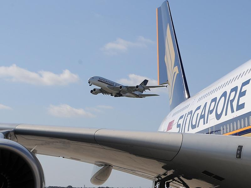 Singapore Airlines has announced it will operate international flights to and from Canberra.