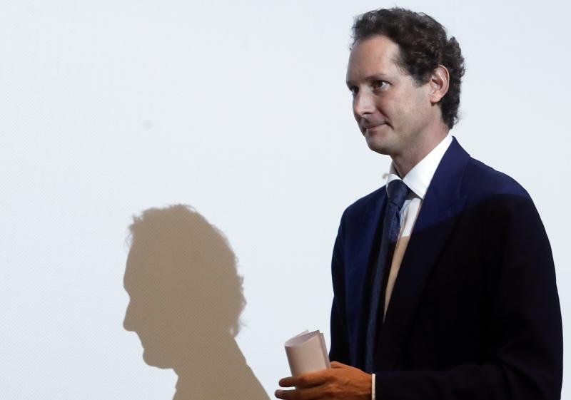 FCA Chairman John Elkann arrives at the Bocconi University in Milan, Italy, Monday, May 27, 2019. Fiat Chrysler is proposing a merger with French carmaker Renault aimed at saving billions of dollars for both companies. Shares of both companies jumped on the possibility. (AP Photo/Antonio Calanni)