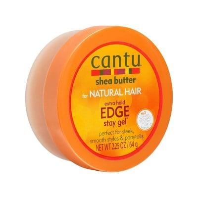 <p>If you lay your edges often, you know how important a good edge control is. This <span>Cantu Extra Hold Edge Stay Gel</span> ($4) will do the trick. </p>