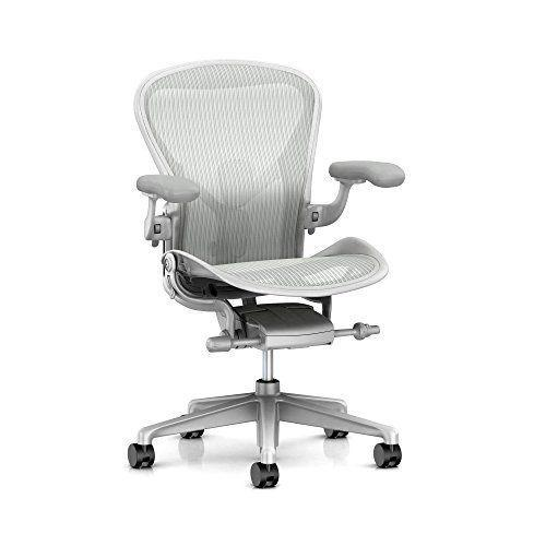 """<p><strong>Herman Miller</strong></p><p>amazon.com</p><p><strong>$1615.00</strong></p><p><a href=""""https://www.amazon.com/dp/B01M4NRYGU?tag=syn-yahoo-20&ascsubtag=%5Bartid%7C10069.g.33567403%5Bsrc%7Cyahoo-us"""" rel=""""nofollow noopener"""" target=""""_blank"""" data-ylk=""""slk:Shop It"""" class=""""link rapid-noclick-resp"""">Shop It</a></p><p>Ok, so maybe it's not the prettiest. This chair's design, however, has been tweaked since its original launch in 1994 by Don Chadwick and Bill Stumpf. Chadwick spent 20 years researching the science of sitting and relaunched the design with cutting-edge technology in 2016. You are sure to be comfortable during long work stints. </p>"""