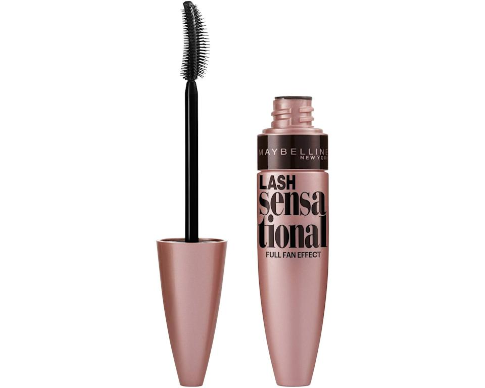 <p>Lashes grow in multiple layers. Taking this into consideration, Maybelline New York developed the <span>Lash Sensational Mascara</span> ($6), which includes a fanning wand that has 10 layers of bristles to make sure each and every one of your lashes gets some love.</p>