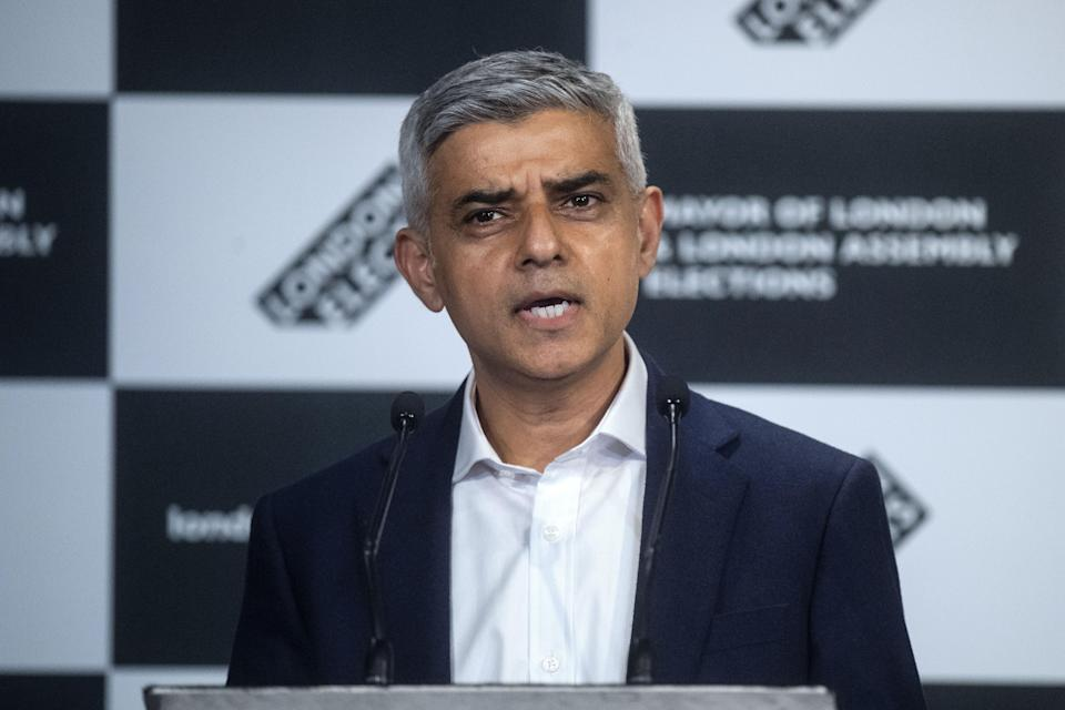 <p>Mr Khan said he had met with vaccines minister Nadhim Zahawi, alongside mayors from across the country </p> (PA Wire)