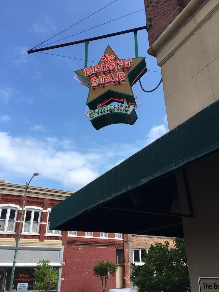 """<p>This <a href=""""https://www.tripadvisor.com/Restaurant_Review-g30373-d325995-Reviews-Bright_Star_Restaurant-Bessemer_Alabama.html"""" rel=""""nofollow noopener"""" target=""""_blank"""" data-ylk=""""slk:tiny café"""" class=""""link rapid-noclick-resp"""">tiny café</a> has been on the scene in Bessemer, AL, since 1907, serving patrons at its horseshoe-shaped bar. Greek immigrants started the joint, and it still serves up Mediterranean-inspired specials, like Greek-style snapper.</p>"""
