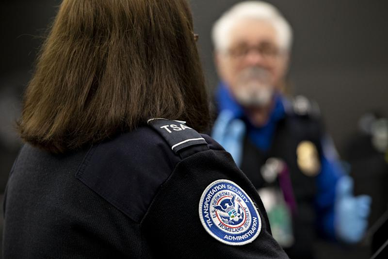 Ten percent of TSA screeners call out sick over holiday