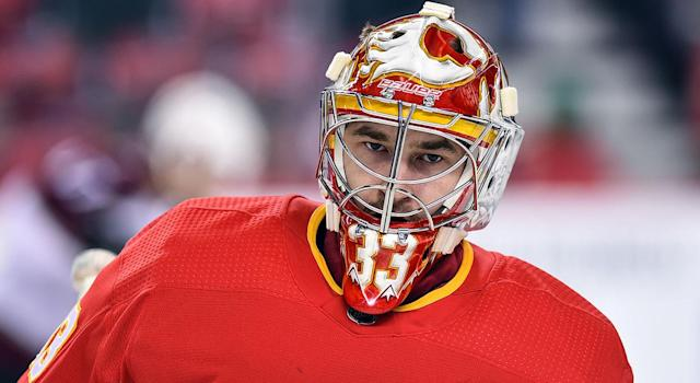 """""""Big Save Dave"""" is staying in Calgary. (Getty)"""