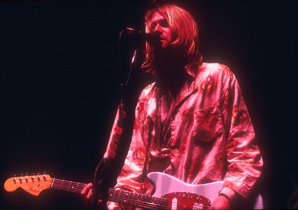 <p>Known as the lead singer of the band Nirvana, Kurt Cobain was probably one of the strongest influences in alternative music then and now. Cobain had dealt with addiction and mental health issues and was found dead of a self-inflicted injury in his Seattle home. </p>