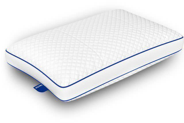 "<strong><a href=""https://fave.co/2ubh9MI"" rel=""nofollow noopener"" target=""_blank"" data-ylk=""slk:Nectar's memory foam pillow"" class=""link rapid-noclick-resp"">Nectar's memory foam pillow</a></strong> is one of the most innovative pillow designs out there right now. Its ""pillow-in-pillow design"" includes a quilted outer memory foam shill, with an inner shell made of two types of contouring foam. You can easily adjust the firmness yourself, just remove the stuffing until it's just right. <strong><a href=""https://fave.co/2ubh9MI"" rel=""nofollow noopener"" target=""_blank"" data-ylk=""slk:Get the Nectar Memory Foam Pillow, $75"" class=""link rapid-noclick-resp"">Get the Nectar Memory Foam Pillow, $75</a></strong>."