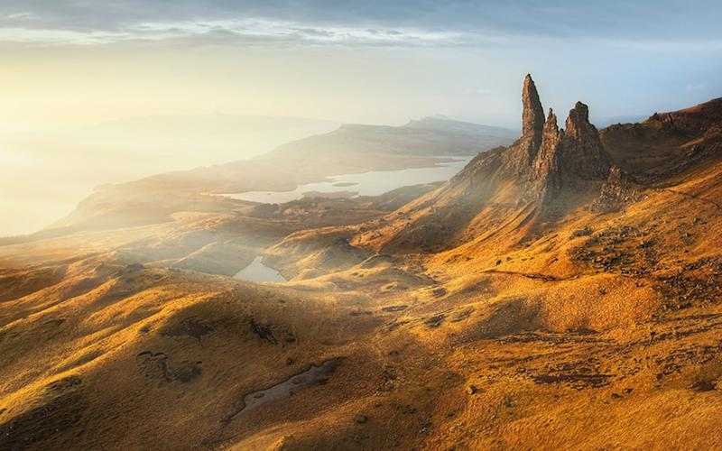 The Isle of Skye has been the site of a number of fossil finds - © 2013 Kristian Bell