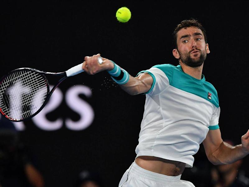 Cilic was impressive in taking the game to five sets (Getty)