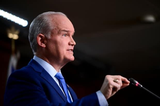 In a 30-minute speech to policy convention delegates, Conservative Leader Erin O'Toole says COVID-19 has changed Canada and