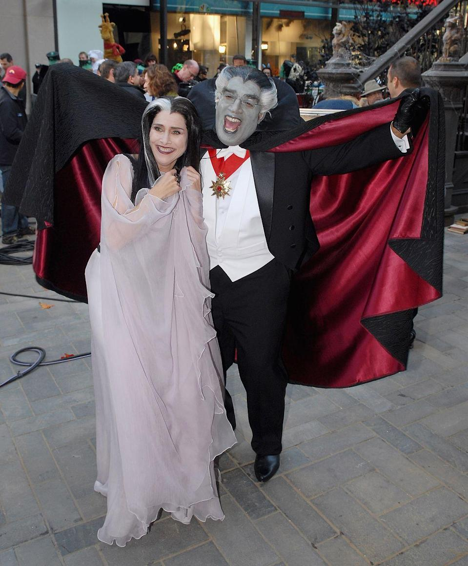<p>Also getting in on the fun? Al Roker dressing up in a cape and gray hair and makeup as the lovable elderly vampire aka Grandpa. From the pictures, you know they had a ghastly good time. </p>