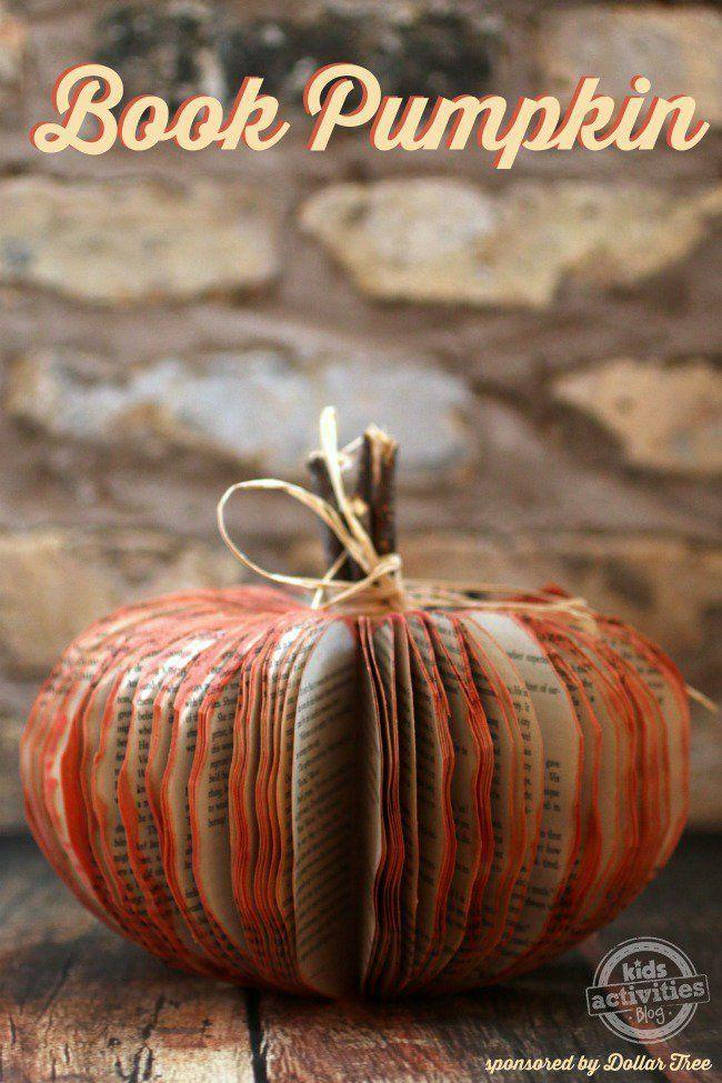 """<p>Don't judge a book by its cover, but rather by how easily you can turn it into a cute pumpkin!</p><p><strong>Get the tutorial at </strong><strong><a href=""""http://kidsactivitiesblog.com/61025/make-book-pumpkin"""" rel=""""nofollow noopener"""" target=""""_blank"""" data-ylk=""""slk:Kids Activities Blog"""" class=""""link rapid-noclick-resp"""">Kids Activities Blog</a></strong></p><p><strong><a class=""""link rapid-noclick-resp"""" href=""""https://www.amazon.com/Lehigh-Group-530X-Twine-Heavy/dp/B000VYBB0I/?tag=syn-yahoo-20&ascsubtag=%5Bartid%7C10050.g.1371%5Bsrc%7Cyahoo-us"""" rel=""""nofollow noopener"""" target=""""_blank"""" data-ylk=""""slk:SHOP TWINE"""">SHOP TWINE</a><br></strong></p>"""