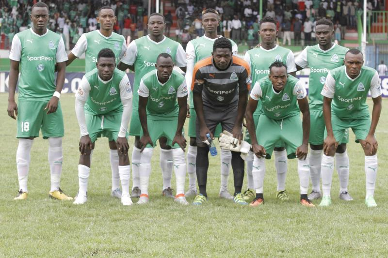 Gor Mahia pick team to play against Tusker