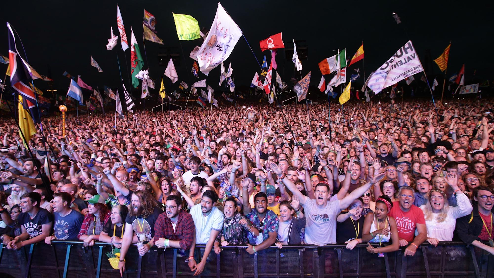 Festival season 'still possible despite the cancellation of Glastonbury'