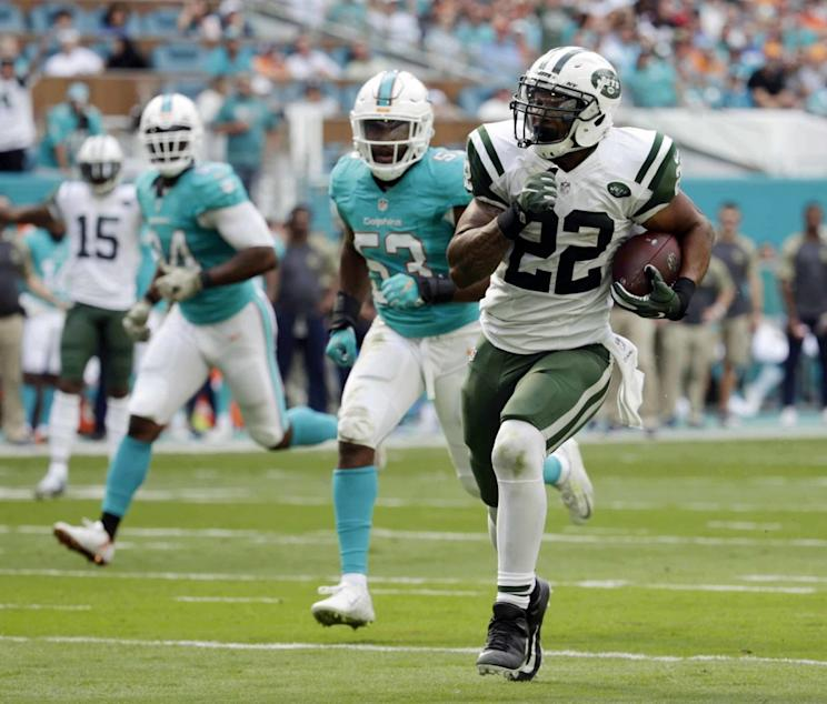 Matt Forte doesn't believe the Jets are tanking this season. (AP)