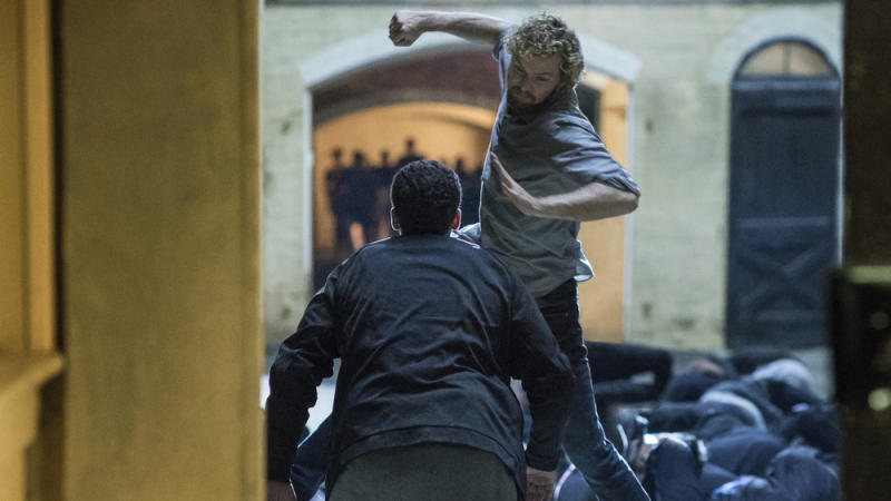"Finn Jones spielt Daniel ""Danny"" Rand alias ""Marvel's Iron Fist"""
