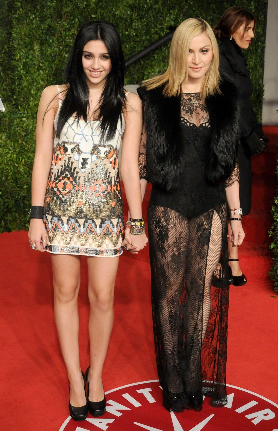 <p>Lourdes Leon not only inherited her mom's iconic edgy and daring style, but also her looks. Though it doesn't seem like the 23-year-old will follow in the footsteps of the Queen of Pop's music career (not yet, at least), she has already dabbled in the world of modeling. </p>
