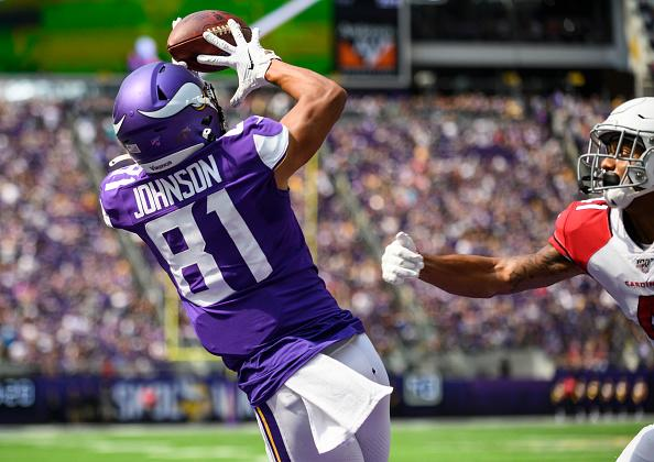 Vikings WR Bisi Johnson should be demoted, says B/R