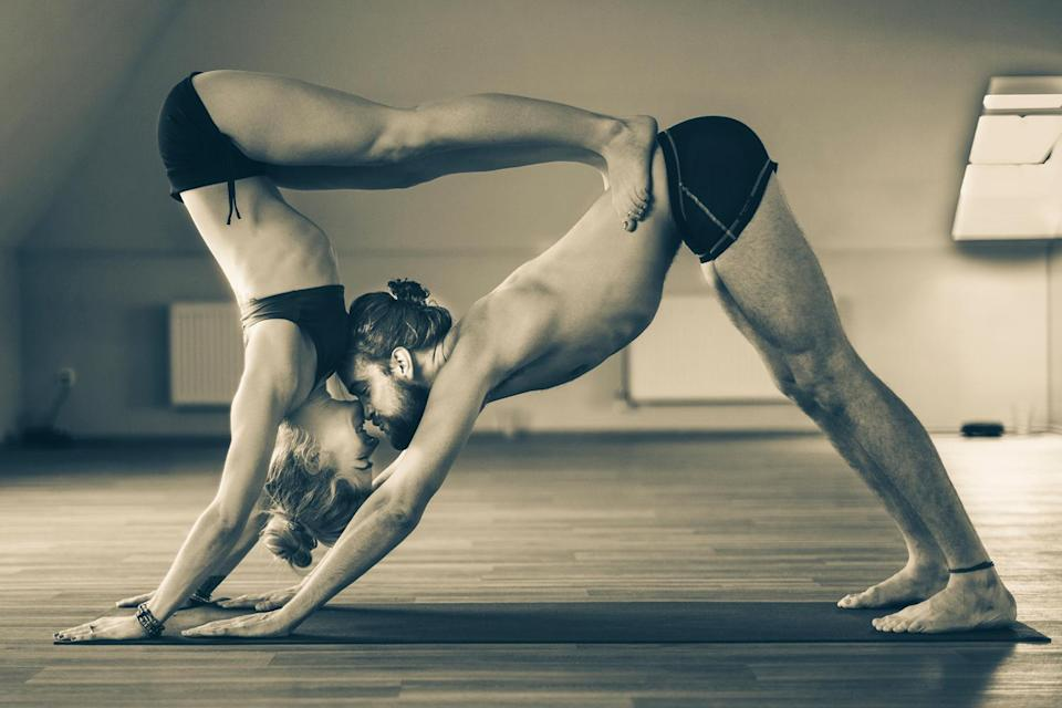 There are many ways yoga can help improve one's sex life. (Photo: Getty Images)