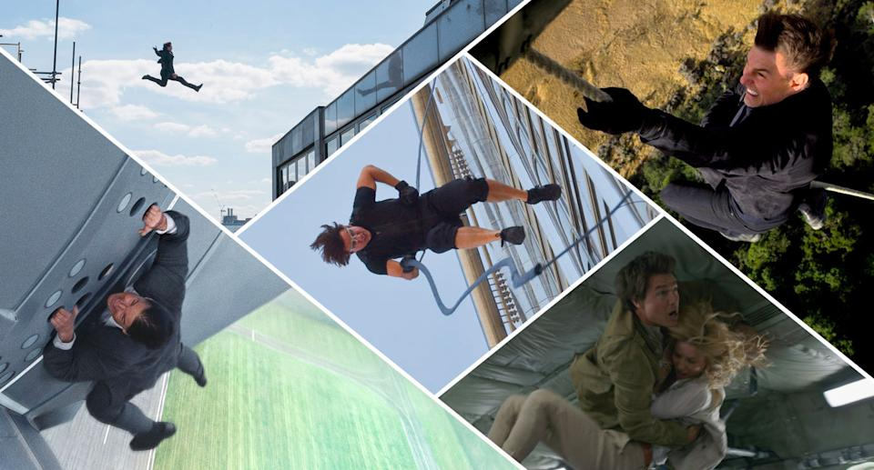 Tom Cruise is known for putting himself on the line when it comes to stunts. (Paramount/Universal)