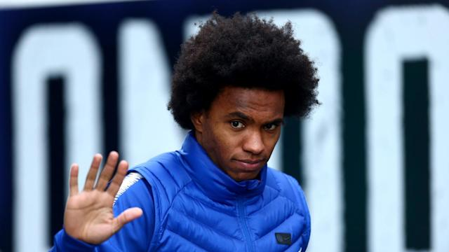 Barcelona want to sign Willian and are willing to send Malcolm to Chelsea to get the deal done