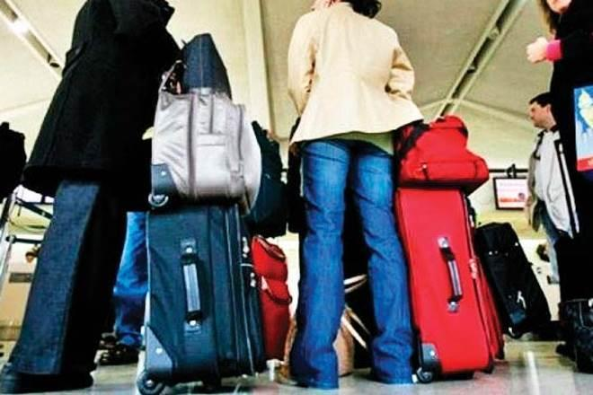 After noticing the damage to his bag, Bharucha raises the issue with GoAir's representative at the airport. (Representative image)