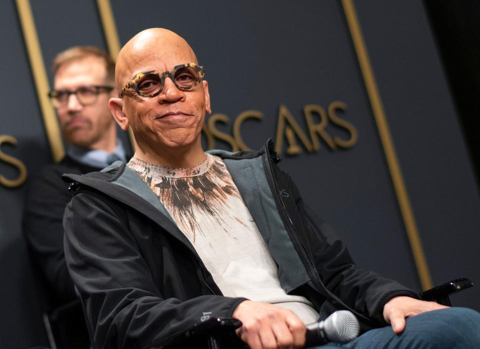 """Musical director Rickey Minor attends """"Meet The Oscars Creative Team"""" at Hollywood & Highland, in Hollywood, California, on February 5, 2020. (Photo by VALERIE MACON / AFP) (Photo by VALERIE MACON/AFP via Getty Images)"""