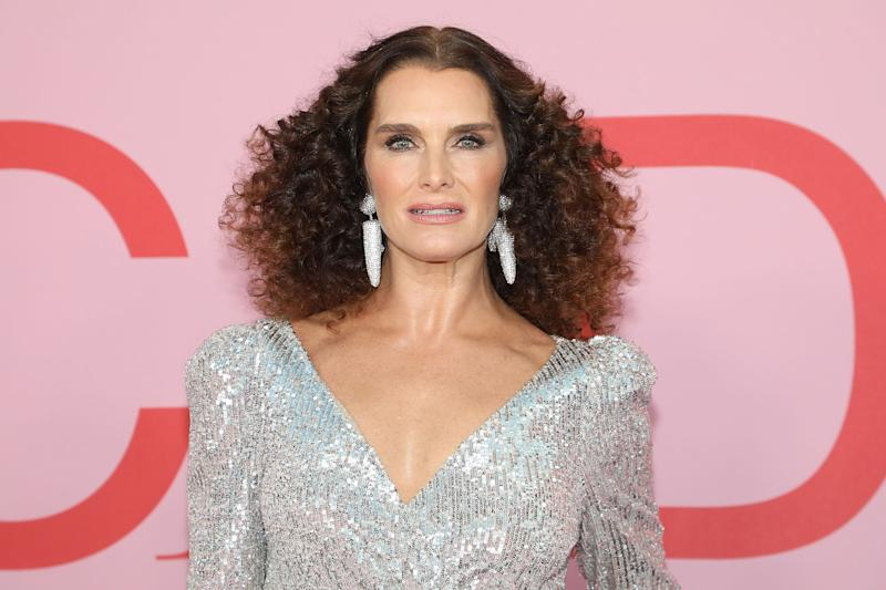 NEW YORK, NY - JUNE 03: Brooke Shields attends the 2019 CFDA Awards at The Brooklyn Museum on June 3, 2019 in New York City. (Photo by Taylor Hill/FilmMagic)
