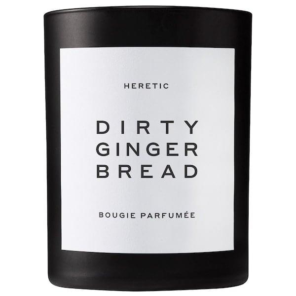 <p>They don't even need to bake to make their home smell like burnt sugar, spicy ginger, and sweet vanilla, all thanks to this <span>Heretic Dirty Gingerbread Candle</span> ($85). 'Tis the season, so tell them to light it up and relax with store-bought cookies instead.</p>