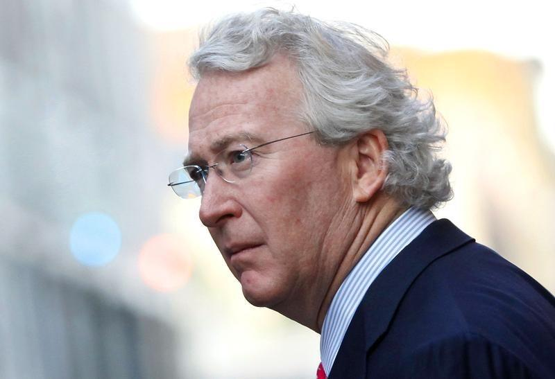 Co-founder of Chesapeake Energy Corporation McClendon walks through the French Quarter in New Orleans, Louisiana in this file photo