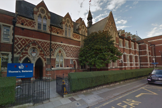 St Thomas's School in Battersea (Google)