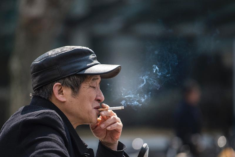 Kicking a nicotine habit may become easier with the help of a virtual environment (AFP Photo/Johannes EISELE)