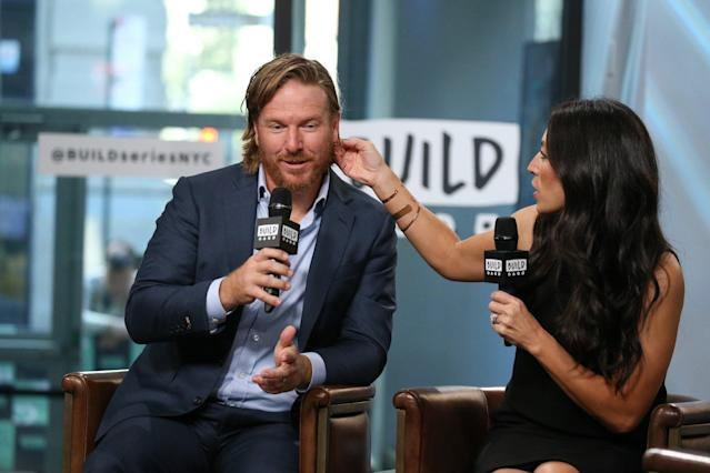 """Fixer Upper"" stars Chip and Joanna Gaines at the BUILD studios in downtown Manhattan"