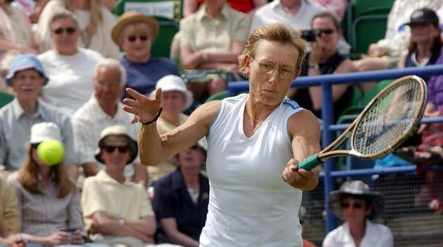 Martina Navratilova was undefeated in 74 consecutive singles matches in 1984