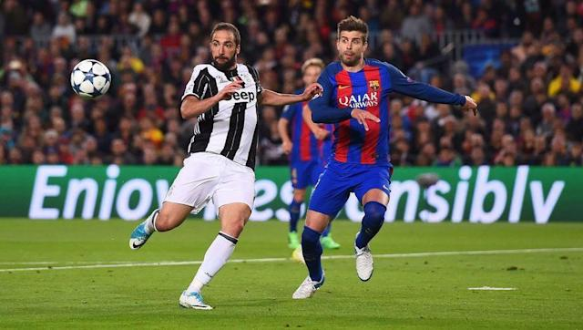 <p>Gonzalo Higuain and Gerard Pique have gone up against each other countless occasions during Higuain's time at both Real Madrid and Juventus. </p> <br><p>Gonzalo Higuain will be playing as a lone front man for large periods of the match due to Barcelona's possession based style of play. His performance in holding the ball up and occupying the La Liga side's defence will be crucial in relieving pressure on his teammates during the match. </p> <br><p>Pique will be tasked with dispossessing the Argentina international as quick as possible whilst also making sure Juventus' club record signing stays off the score sheet. </p>