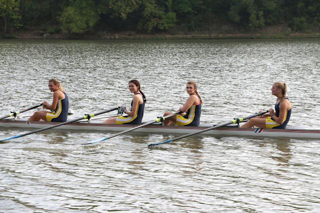 <p>No. 1: Rowing<br>Number of high school athletes: 4,242<br>Athletic scholarships: 2,080<br>Ratio of athletes to scholarships: 2:1<br>(OakleyOriginals/Creative Commons) </p>